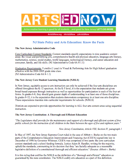 Get the facts & figures on Arts Ed Impact | Arts Ed Now